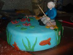taart voor schoonvader die tachtig werd