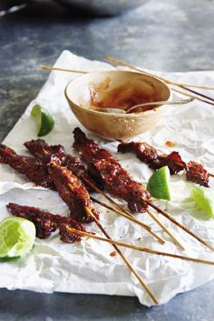 Almost Mongolian Beef Satay from Daphne Oz's 'The Happy Cook'