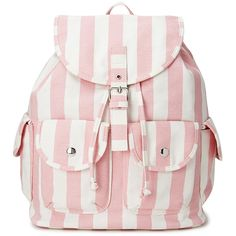 FOREVER 21+ PLUS SIZES Cool Girl Striped Backpack (55 BRL) ❤ liked on Polyvore featuring bags, backpacks, accessories, purses, drawstring bag, day pack backpack, lightweight rucksack, backpack bags and striped backpack