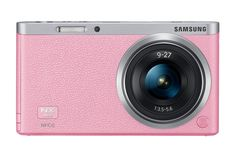 Samsung - NX Mini Digital Compact System Camera with Lens - Pink - Larger Front Nikon D3100, Sony A6000, Iphone 5s, Camera With Flip Screen, Best Buy Coupons, Digital Camera Lens, Samsung 9, Camera Photos, Amazon Specials