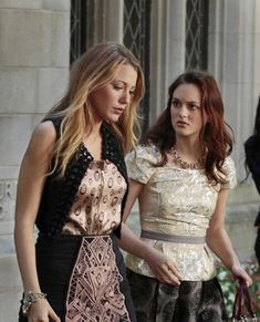 "Blake Lively And Leighton Meester In ""Easy J"" (S4:E6)"