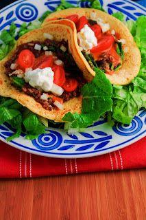 Vegan, Gluten Free Chickpea Flatbread Tacos