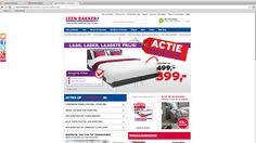 De leenbaker, heeft de zelfde prijsklasse als ikea en trekt dezelfde klanten aan. ook qua kwaliteit.