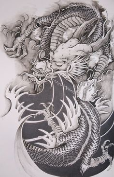 Chinese Dragon by brokenpuppet86.deviantart.com on @deviantART