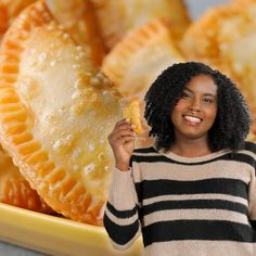 These empanadas are the perfect bite to serve to friends and family. Recreate Monica's moms' empanadas with the help of Kroger. Get all the ingredients you'll need at your local store for the perfect way to celebrate Hispanic Heritage Month.
