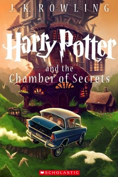 Harry Potter and the Chamber of Secrets gets a new illustrated cover by artist Kazuhiro Kibuishi. Scholastic revamped the book covers to celebrate the 15th anniversary of the U.S. publication of the first Harry Potter novel in the seven book series. The new covers focus on pivotal scenes in the books and when placed in order, the spines of the 7 books will reveal a sweeping image of Hogwarts at night.