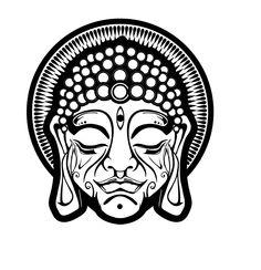 My Buddha head sletch - third eye