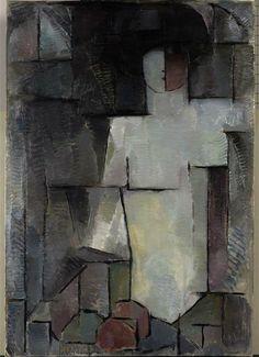 Piet Mondrian (Dutch, Le Grand Nu, 1912 via babylonbabys Piet Mondrian, Raoul Dufy, Dutch Painters, Dutch Artists, Art Moderne, Figure Painting, Figurative Art, Art Day, Abstract Art