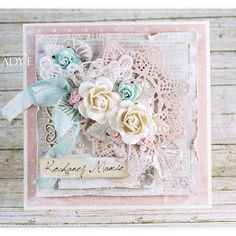 For Mum - Cardmaking Tutorial - Wild Orchid Crafts Card Making Tutorials, Making Ideas, Estilo Shabby Chic, Shabby Chic Cards, Birthday Cards For Women, Wild Orchid, Beautiful Handmade Cards, Mothers Day Cards, Vintage Crafts