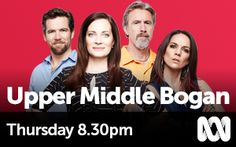 Upper Middle Bogan - Very funny show! Dating World, Scary Places, Modern Tv, Star Cast, Tv Shows, Middle, Romance, Funny, Spooky Places