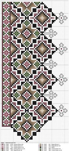 Bilderesultater for kvarde Embroidery Patterns, Cross Stitch Patterns, Chart Design, Bead Weaving, Embellishments, Bohemian Rug, Diy And Crafts, Folk, Kids Rugs