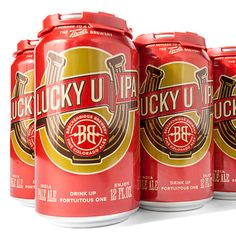 Breckenridge LuckyU IPA I like the logo and the colors.
