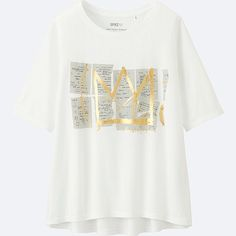WOMEN SPRZ NY SHORT-SLEEVE GRAPHIC T-SHIRT (JEAN-MICHEL BASQUIAT), WHITE