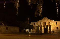 Alamo, a national landmark in San Antonio, Texas.
