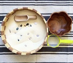 Montessori tray activity