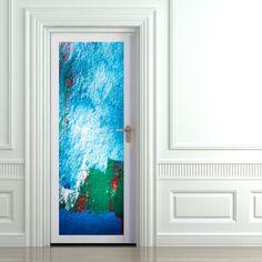D coration des portes on pinterest articles stickers for Decorer une porte d interieur