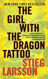 The Girl with the Dragon Tattoo by Stieg Larsson.  I actually purchased this book on a whim about a year ago and still haven't read it.  It's also being turned into a movie...think it's time to start it up.
