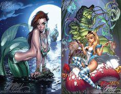 Mermaid j scott campbell