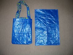 Changing pad/diaper bag out of 50 cent Ikea bag