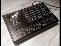MATRIXSYNTH: NAMM 2016 Dtronics Dirty Pi synthesizer ( Ploytec PL2 engine )