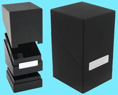96ce503f904 CCG Deck Boxes 183462  Ultimate Guard Monolith Black Deck Case 100+ New Card  Dice Tower Storage Box -  BUY IT NOW ONLY   15.08 on eBay!
