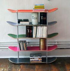 Skateboard kastje  - weer eens wat anders