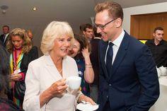 The Duchess of Cornwall and Tom Hiddleston - BBC Radio 2's 500 Words creative writing competition. via torrilla