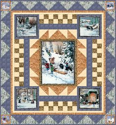 CLEARANCE  Winter's I Remember Quilt Kit   by Heirloomsofmyown, $60.00