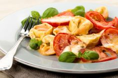 tomato mozzarella noodle gratin - Stock Footage | by ChristianFischer