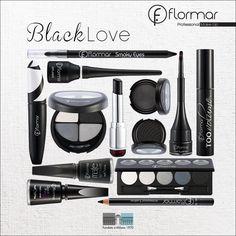 El negro combina con todo y en el maquillaje siempre te dará un toque sexy y misterioso.