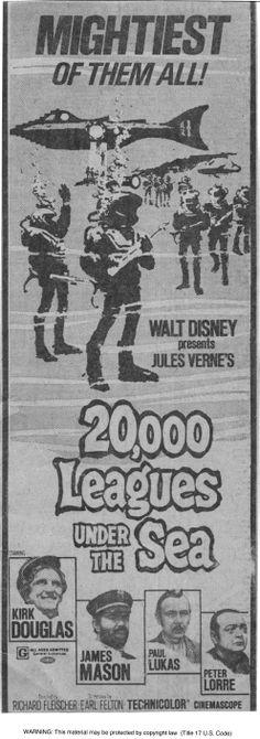 20,000 Leagues Under the Sea | Walt Disney Pictures