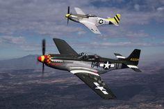 P-51 Mustang   Type: Single-seat long range fighter