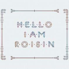 Designspiration — Roisin | Initial caps on the Behance Network