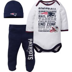 Patriots Baby clothing