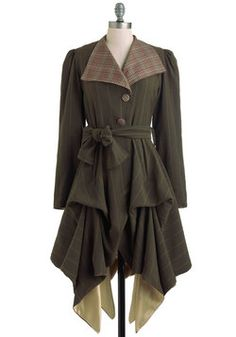 In the Name of Adventure Coat, #ModCloth
