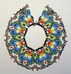 Always interested in ethnic beading from outside my realm. The Saraguro collars of Ecuador are fantastic.