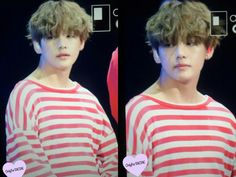 Curly hair Taehyung