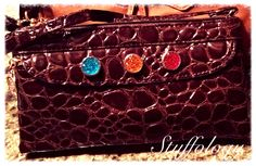 Cross body / wristlets snap hand bag available at Stuffology!!