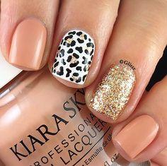 New manicure rosa animal prints 56 ideas Love Nails, How To Do Nails, Pretty Nails, Leopard Nail Art, Pink Cheetah Nails, Leopard Print Nails, Safari Nails, Gel Nail Art Designs, Cheetah Nail Designs