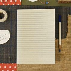 Journal Linen Lines