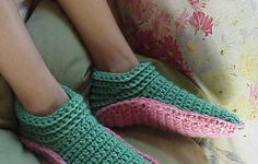 crochet booties for adults pattern - Google Search
