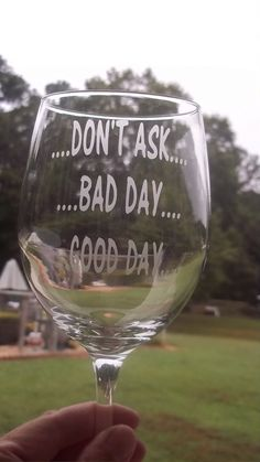 16 oz. Large Etched Wine Glass by CindyBsCrafts on Etsy, $8.00