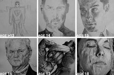 These Amazing Drawings Show Us Practice Really Does Make Perfect