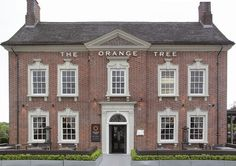 The Orange Tree - Stoke-on-Trent Stoke On Trent, Beautiful Buildings, Newcastle, Old Photos, United Kingdom, England, Diners, Orange, Mansions