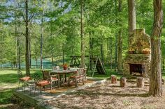 Franklin Vacation Rental - VRBO 428147 - 3 BR Middle House in TN, Farmhouse in the Fork: Lake, Private Storybook Setting in Leipers Fork Outdoor Rooms, Outdoor Dining, Outdoor Furniture Sets, Outdoor Decor, Outdoor Fire, Outdoor Projects, Garden Projects, Play Structures For Kids, Home