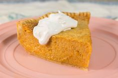 Southern Sweet Potato Pie ~ similar to pumpkin pie but sweet & hearty taste of sweet potatoes give it an extra dimension of flavour ~ try one today!