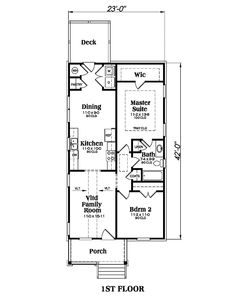House Plan 009 00122   Traditional Plan: 966 Square Feet, 2 Bedrooms, 1  Bathroom