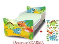 Dětská postel Dino Toddler Bed, Furniture, Home Decor, Homemade Home Decor, Home Furnishings, Decoration Home, Arredamento, Interior Decorating