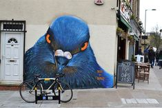Towering Animals by Irony & Boe Stalk the Streets of London street art murals London animals