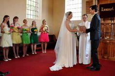My beautiful coloured bridesmaids Bridesmaids, Bridesmaid Dresses, Wedding Dresses, Spring, Beautiful, Color, Fashion, Bride Maid Dresses, Bride Dresses